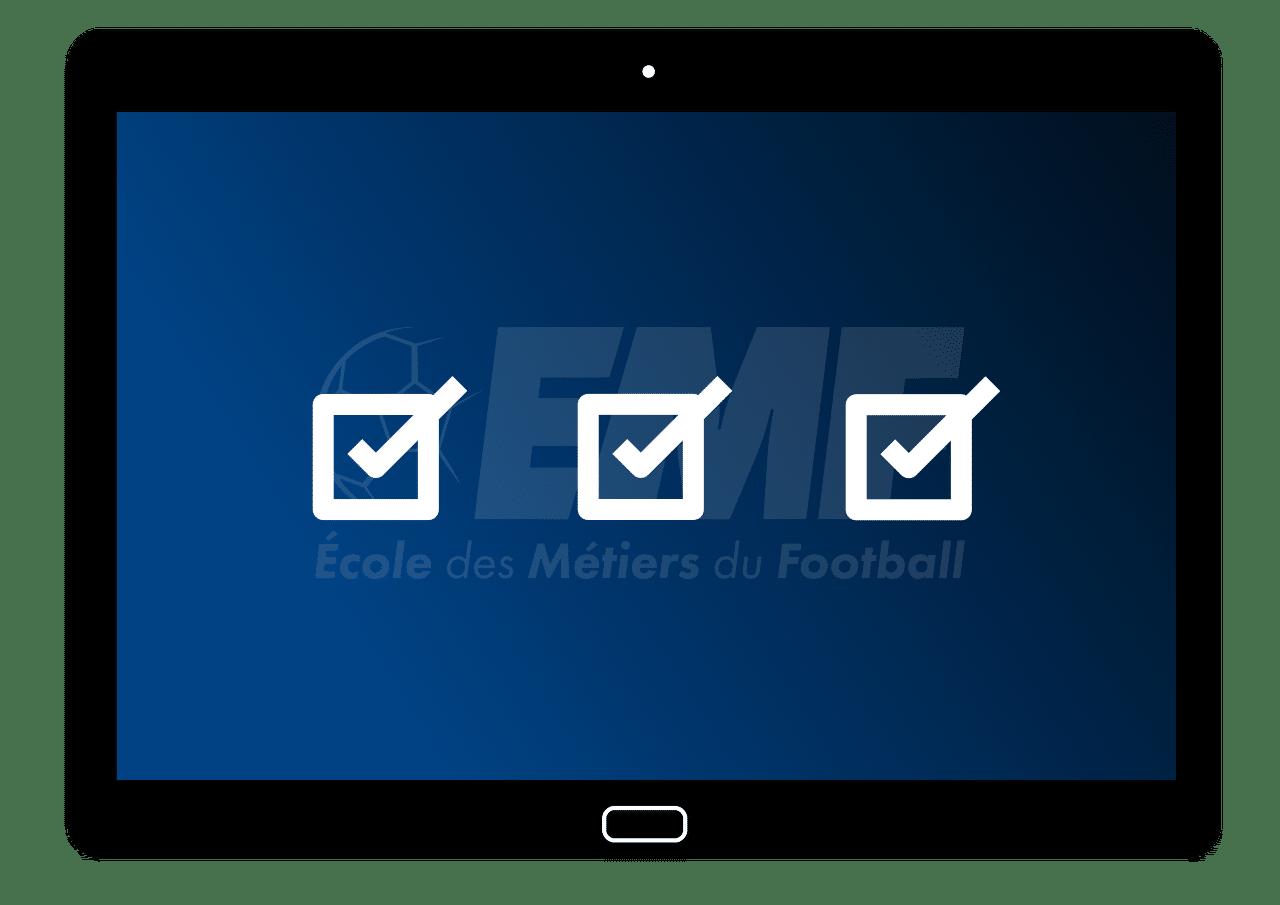Tablette Formation Pré Requis - EMF